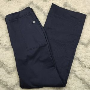 Nordstrom Signature Wide Leg Navy Pants Size 14